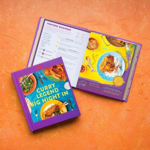 Curry Legend Big Night In Cookbook (blends not included!)