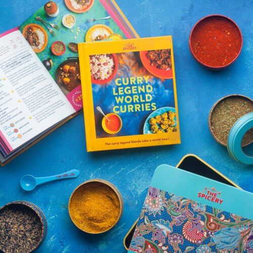 Curry Legend World Curries Cookbook Kit in Presentation Tin