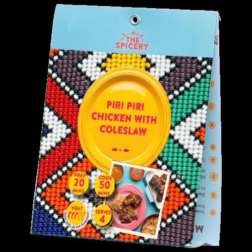 Piri Piri Chicken with Coleslaw