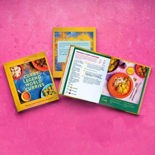 Curry Legend World Curries Cookbook (blends not included!)