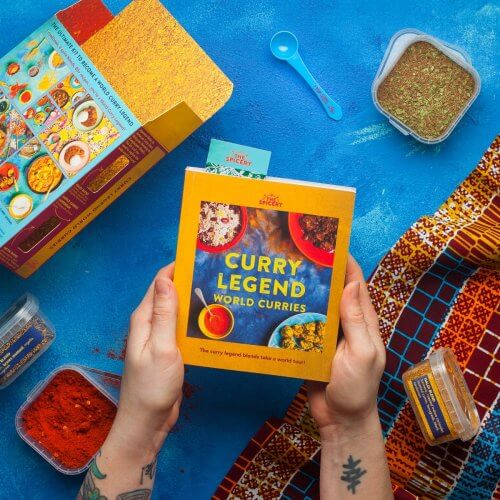 Curry Legend World Curries Paperback Cookbook Kit