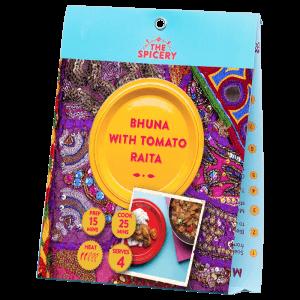 Bhuna with Tomato Raita