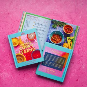 How to be a Curry Legend Cookbook (blends not included!)