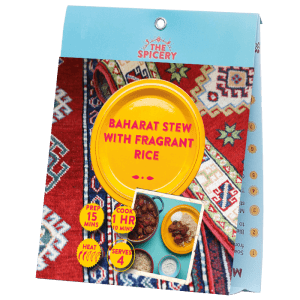 Baharat Stew with Fragrant Rice