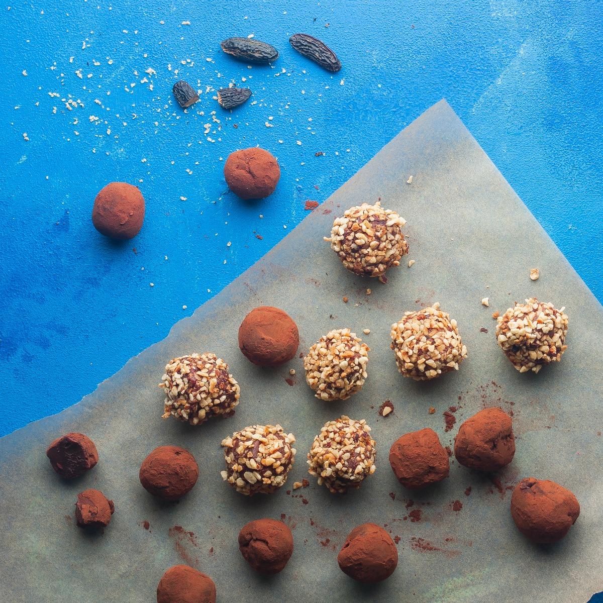tonka bean truffles