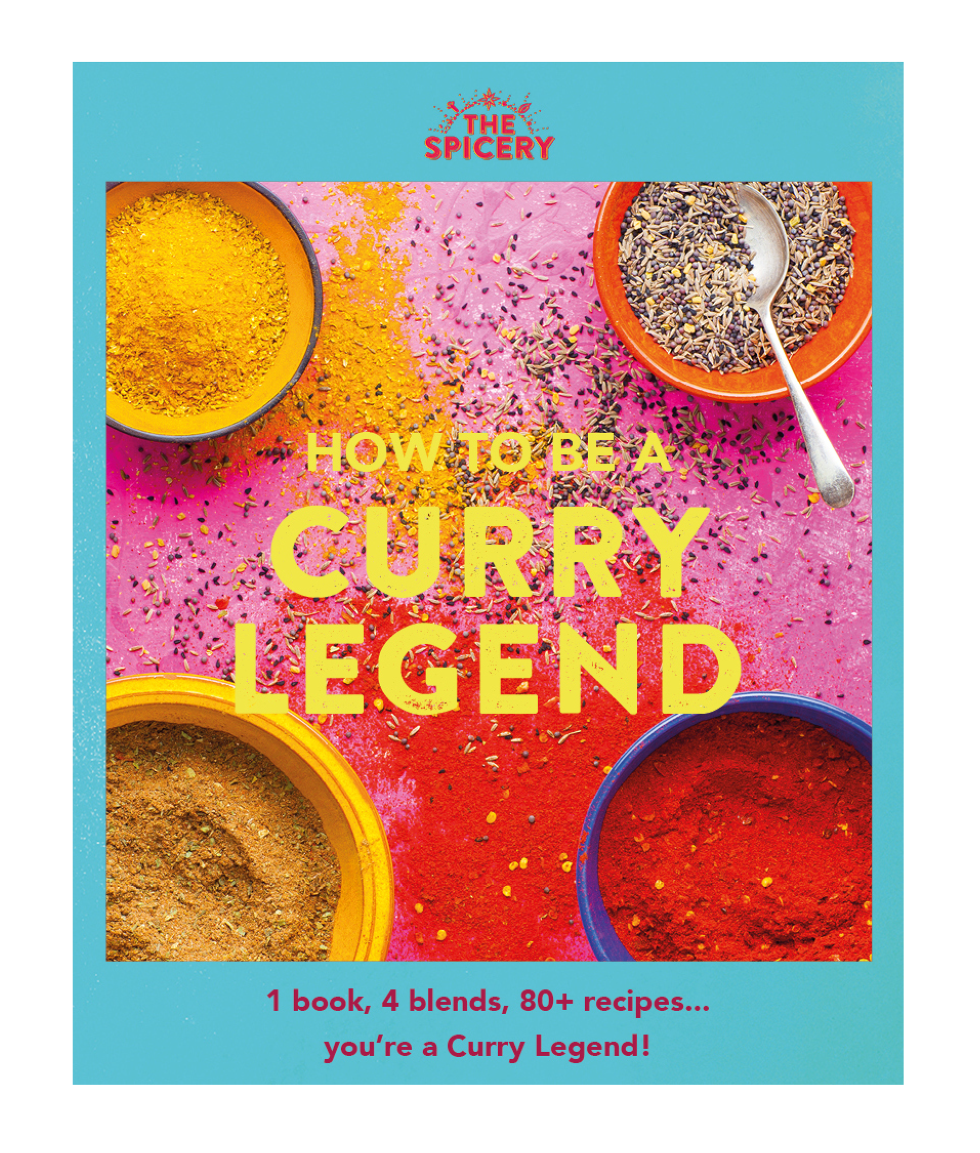 How to be a Curry Legend Cover (Blue, larger of the two)